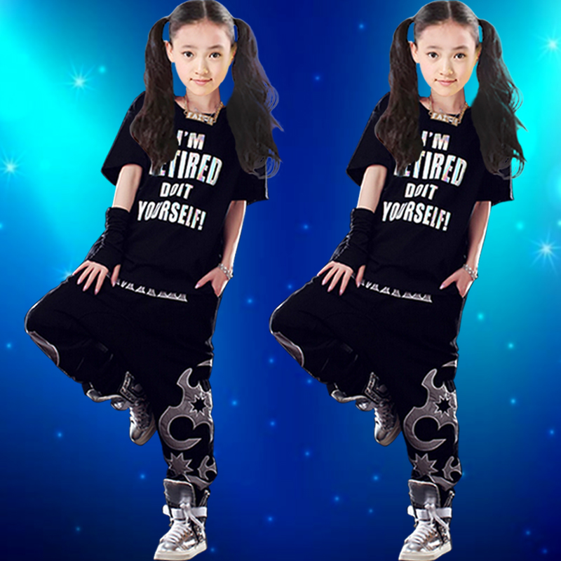Laugh ds costumes hip-hop jazz dance costumes modern dance performance clothing children's costumes adult students in the spring and summer