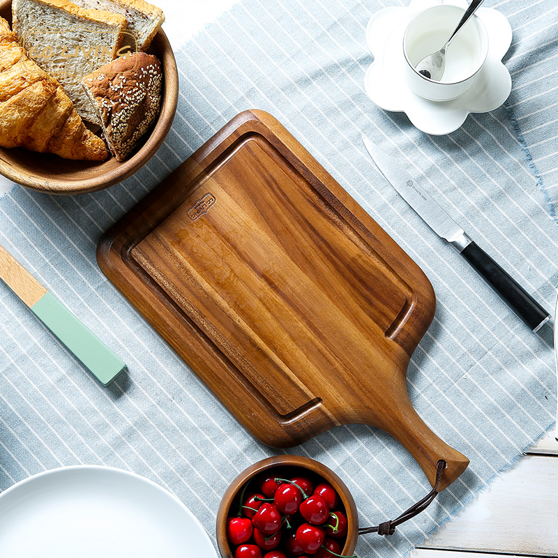 Lcliving acacia wood cutting board cutting board kitchen cutting board cutting board cutting board imported from thailand anvil ganmian board chopping board