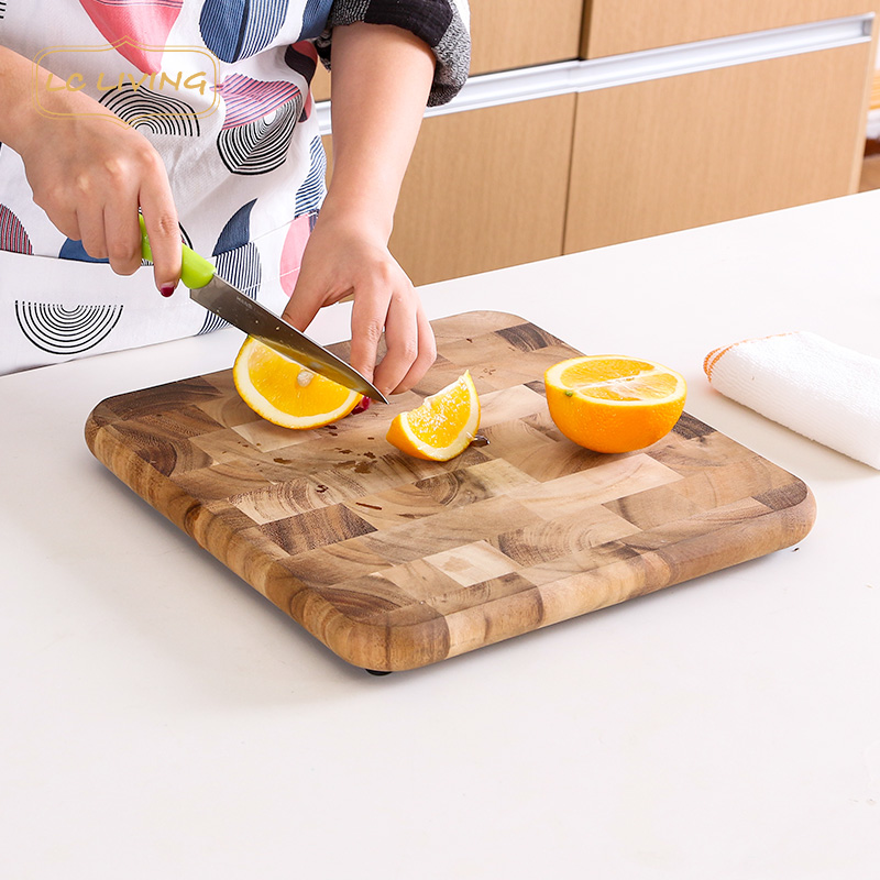 Lcliving imported from thailand acacia wood cutting board kitchen cutting board chopping anvil ganmian board chopping board