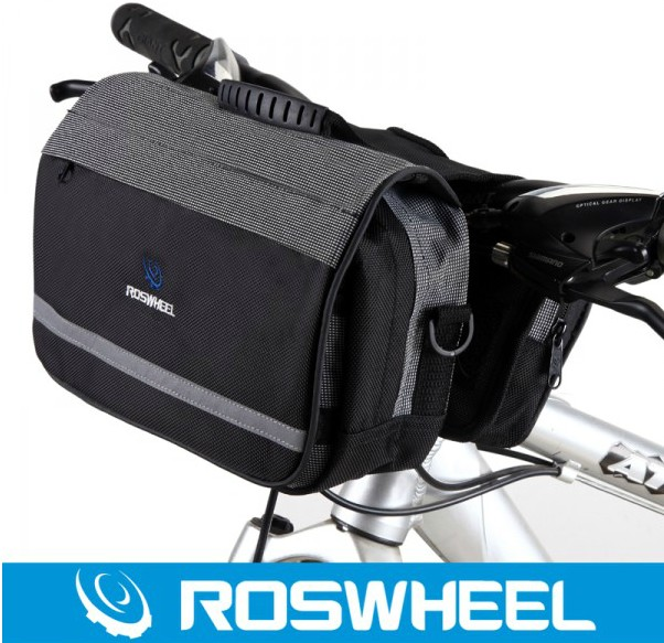 Le xuan genuine roswheel high quality multifunction first bike bag front pack mountain bike bicycle head equipment package
