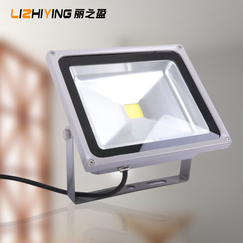 Led flood light waterproof outdoor signs courtyard street 30w50w outdoor spotlights projection lamp lighting high power rate
