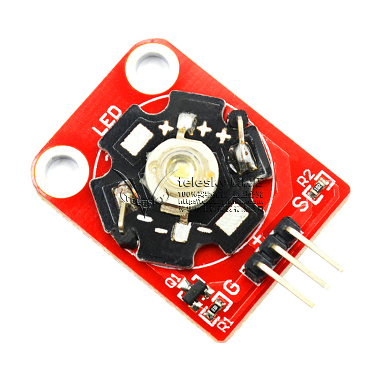 Led light module w white/red/yellow/blue/green/purple led module power led Module
