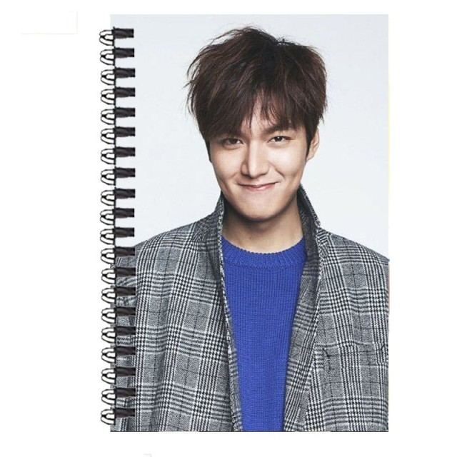 Lee min ho lee min ho city hunter soft copy manuscript notebook official with the money around the creative gifts