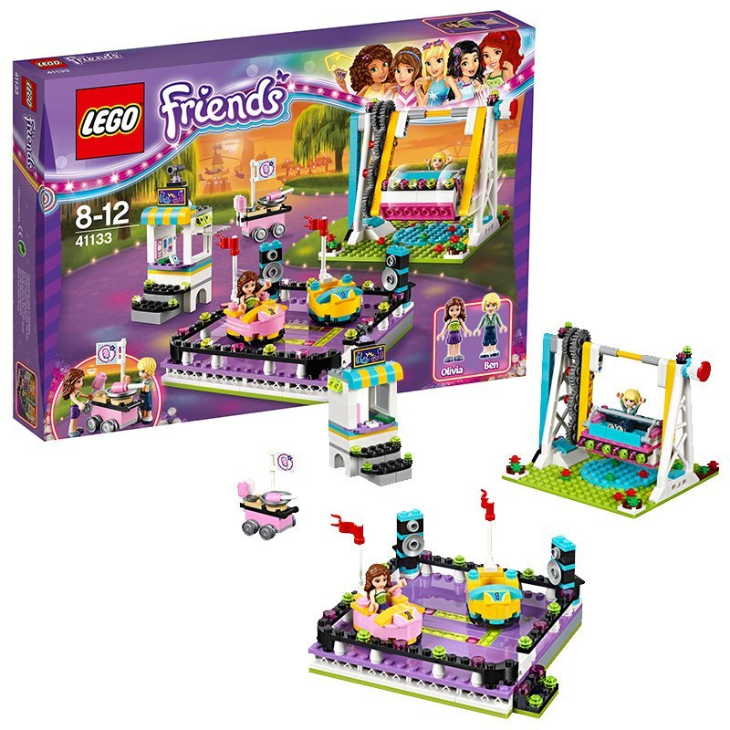 Lego lego friends series bumbaclot L41133 playground girl toy building blocks fight inserted small particles