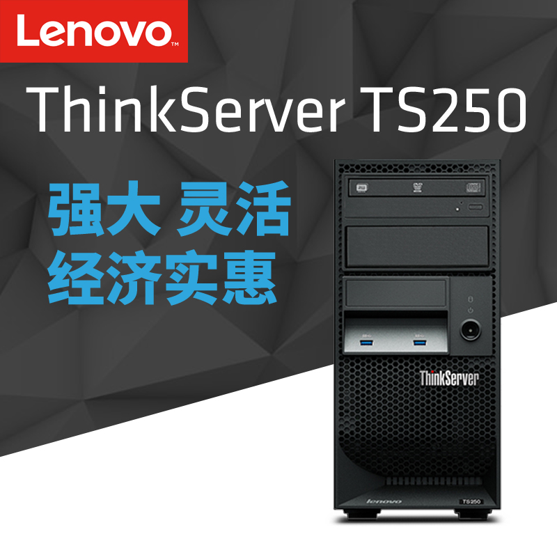 Lenovo server thinkserver TS250 i34150å4160 tower server host computer/G4400/e3