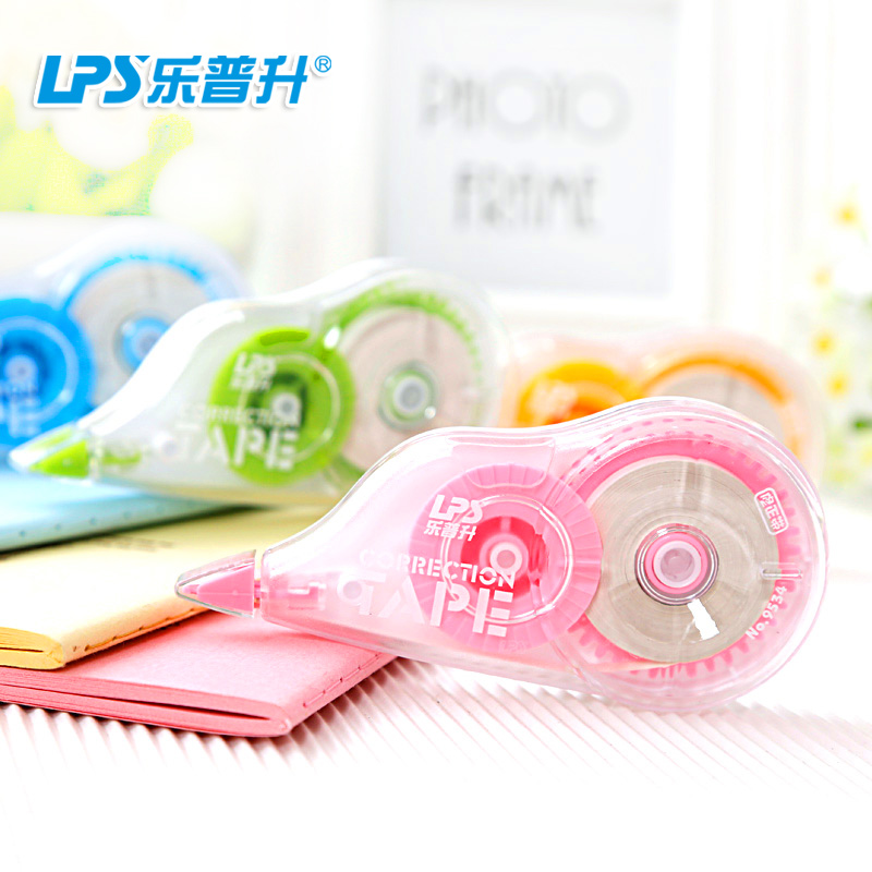 Lepusheng correction tape 12 m * 4 combination of equipment free shipping wholesale korea creative student altered with correction tape correction tape