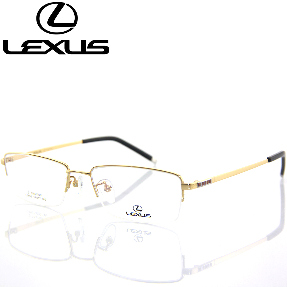 Lexus half frame titanium glasses frame glasses frame optical glasses frame glasses frame myopia men commerce