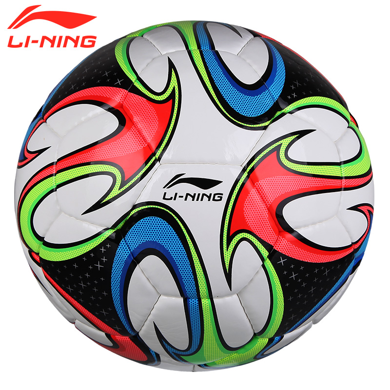 Li ning football slip wearable pu football professional football sew formal standard training game ball