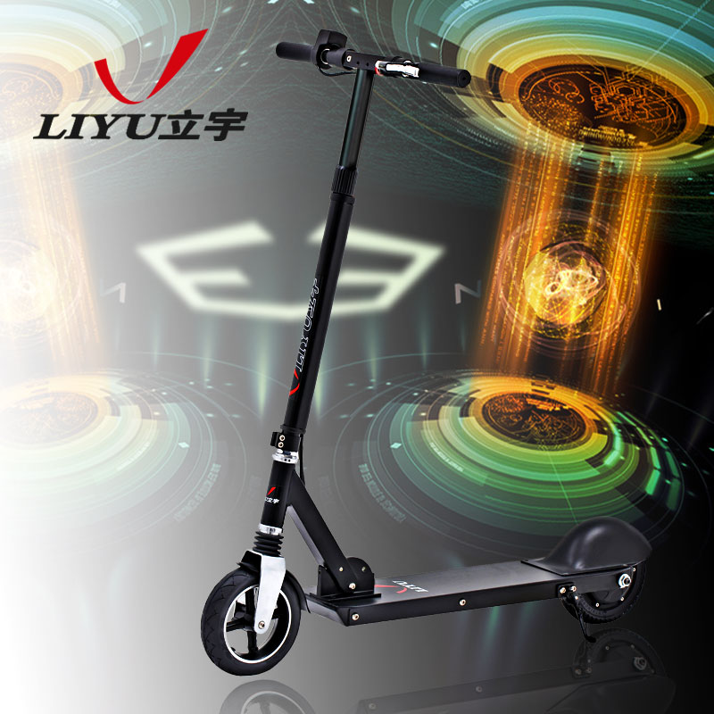 Li yu mini l2 lithium battery electric vehicles adult scooters two wheel scooter folding electric bike
