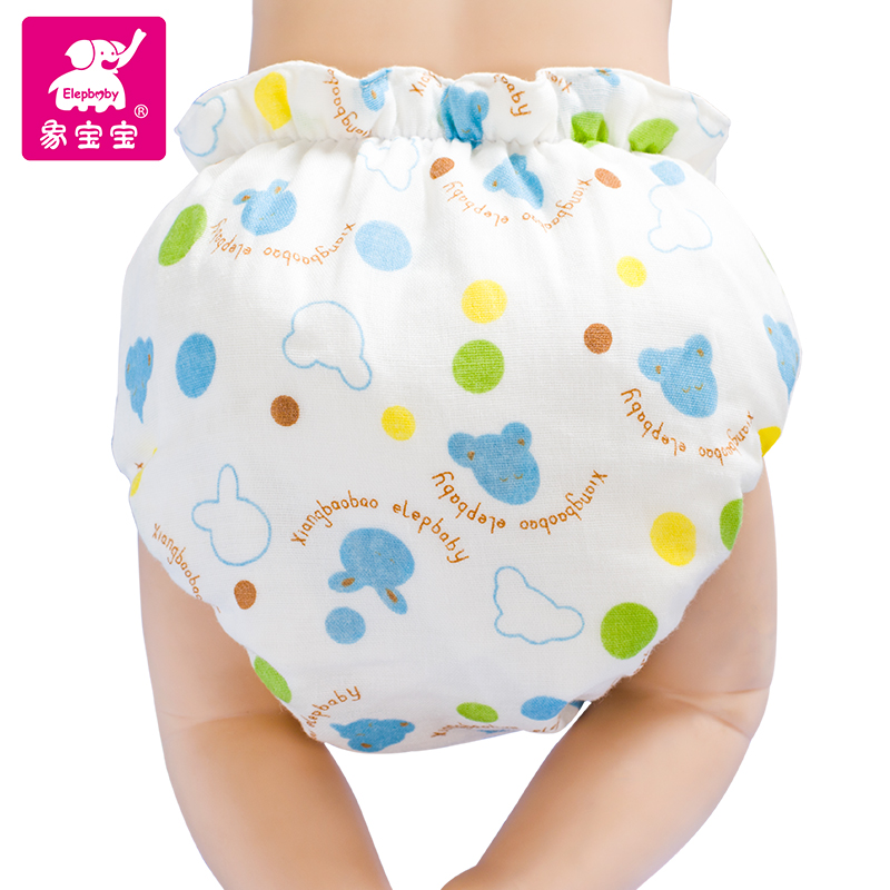 Like baby baby gauze diapers pants pocket diapers newborn washable breathable waterproof diaper pants leakproof separated urine cotton