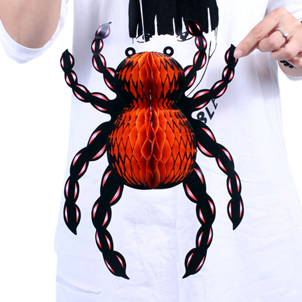Lin fang halloween props bar supplies decorative ornaments funny spider charm 36g