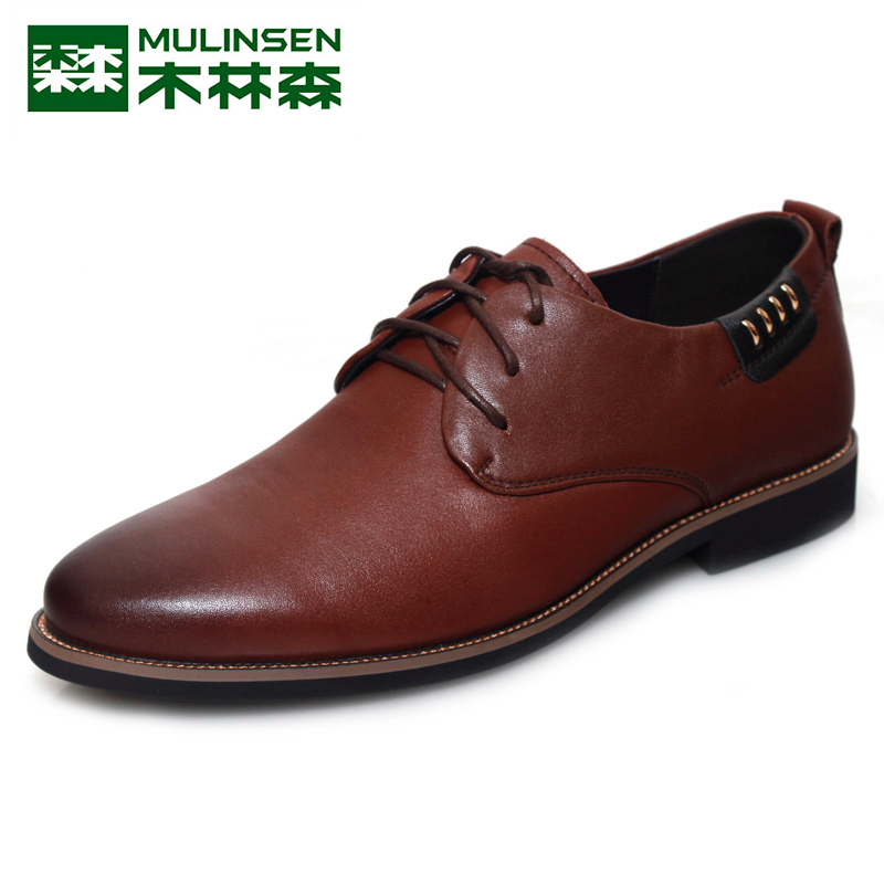 Linsen men's counter genuine 2015 cotton flax lace casual fashion to help low shoes leather breathable comfort