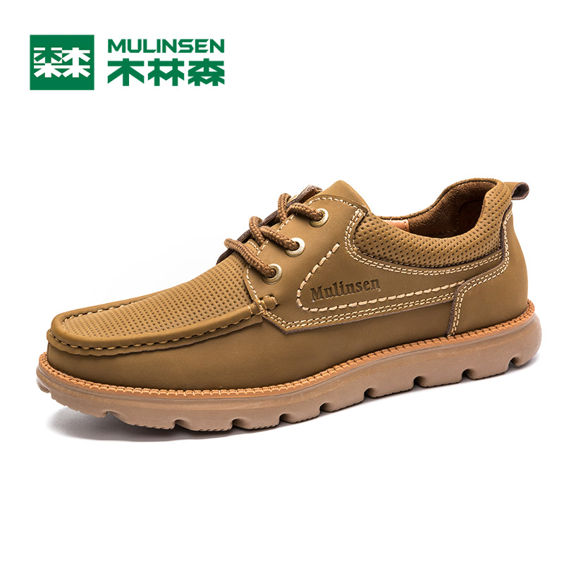 Linsen men's outdoor men's casual shoes breathable 2015 autumn new classic flat lace shoes