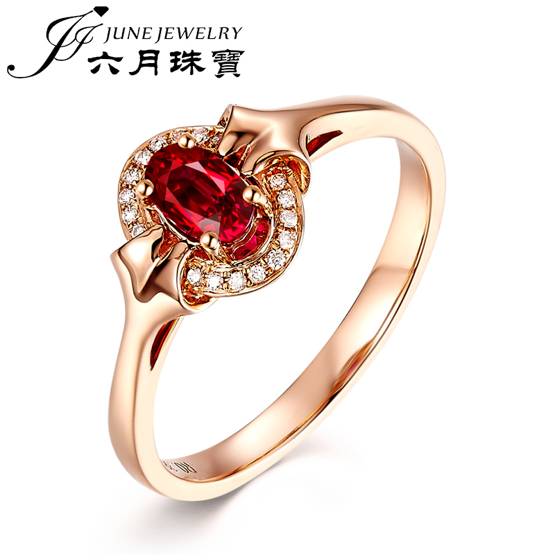 Lloyd's rep. jewelry/June no burning natural mozambique ruby ring jewelry oval custom