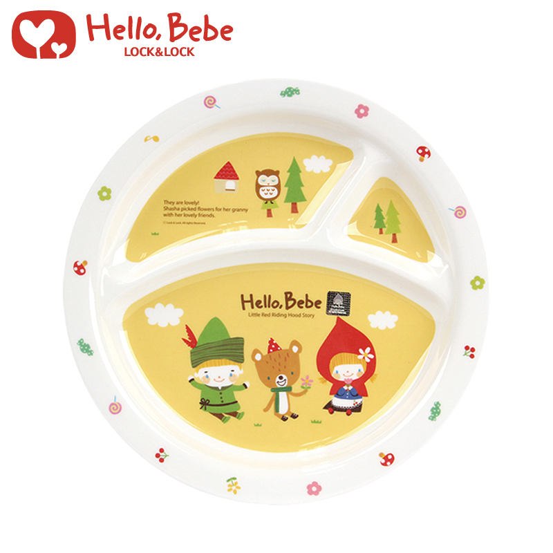 Get Quotations · Lock hellobebe baby weaning tableware three grid segregated melamine round plate lbb461  sc 1 st  Shopping Guide - Alibaba & China Melamine Baby Plate China Melamine Baby Plate Shopping Guide ...