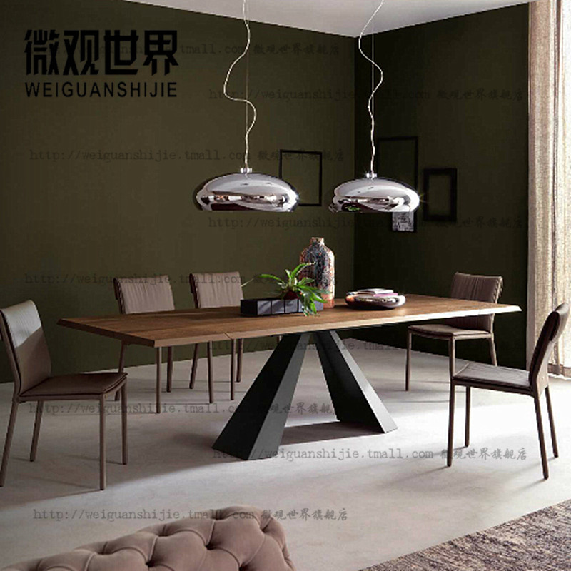 Loft american vintage wood dining tables and chairs wrought iron wrought iron table desk computer desk desk desk new proposed by the