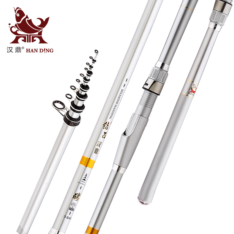 Long section of handing small ring angeles fishing rod superhard carbon hand sea dual pole fishing rod rod hard dumped sea fishing pole rockies pole kit