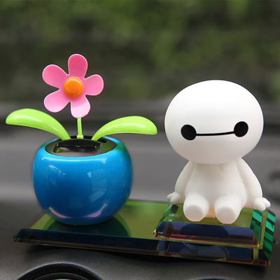 Long yuexiang v5 car ornaments jushi cute cartoon car accessories big white ornaments