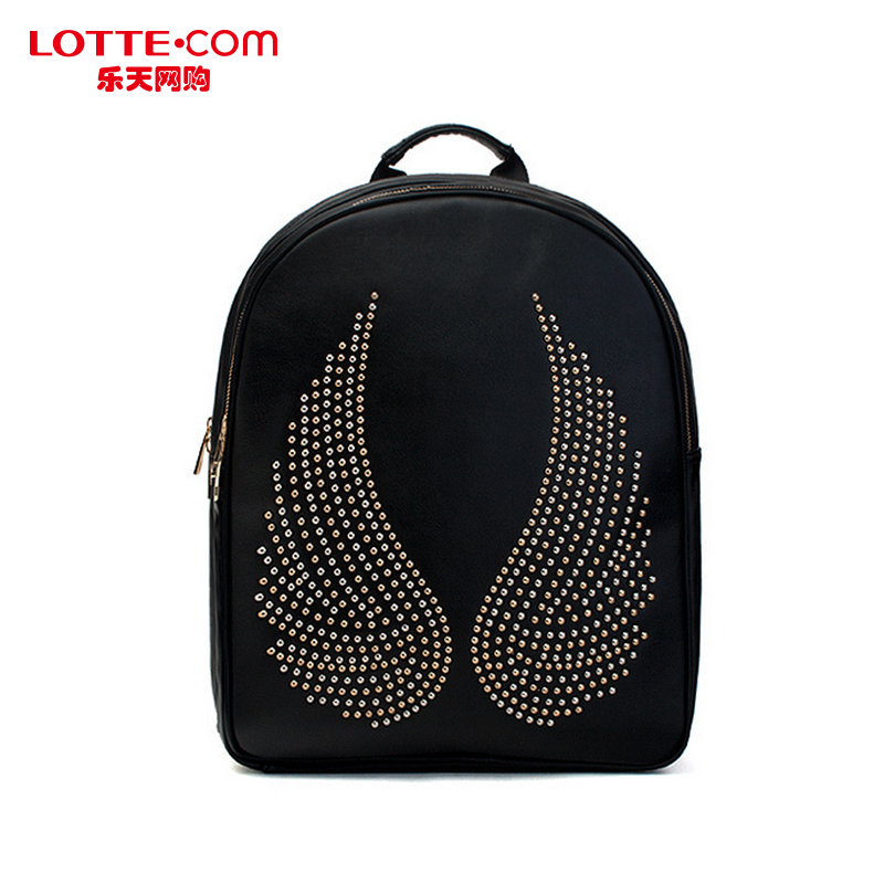 Lotte shopping online mclanee handbag fashion simple college wind leisure backpack computer bag authentic korean