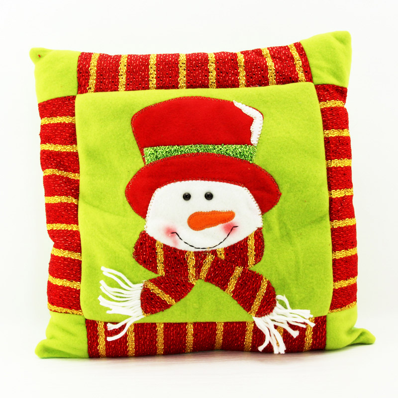 Love christmas gifts christmas gifts small square pillow pillow christmas santa claus christmas snowman christmas tree decorations