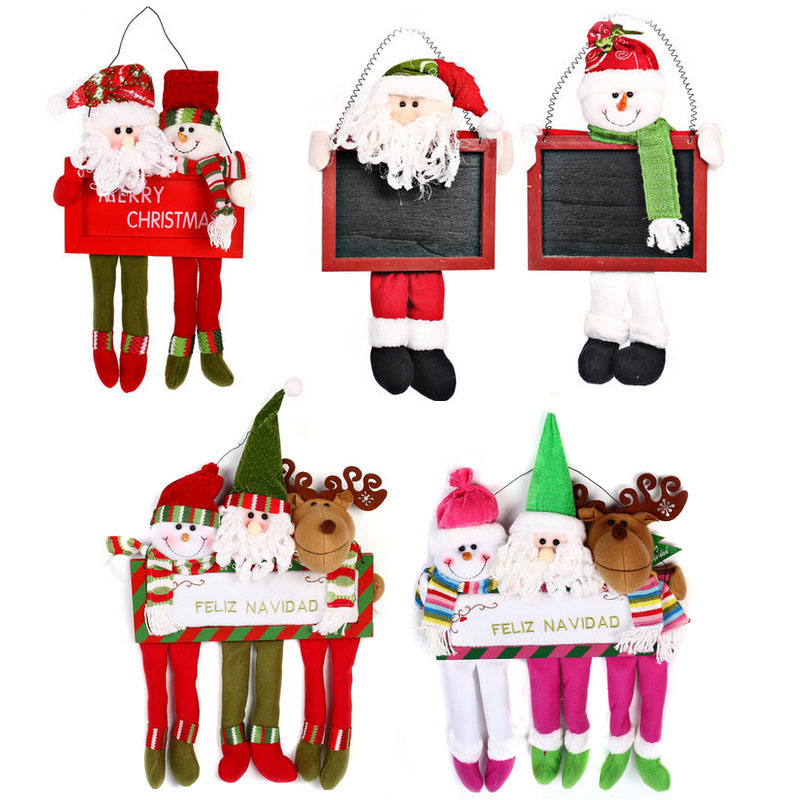 Love novelty christmas decorations doorplates listed on christmas window decoration door hanging pendant