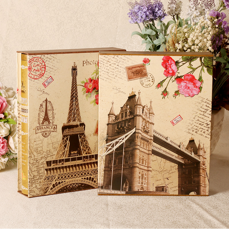 Love sail diy manual paste album album baby grow yearbook couple family photo album album