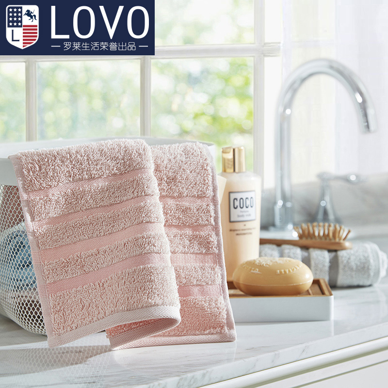 Lovo carolina textile company produced small square washcloth towel cotton towel face towel cotton adult children
