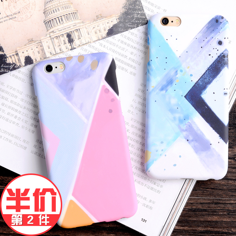 Lphone6s 6 european and american popular brands apple phone shell creative personality trend in europe and america tide male korean influx of women futuroic