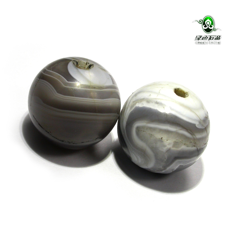 Lssp/green stone product does not bargain fidelity qing old tibetan natural sardonyx beads for diy mz1805