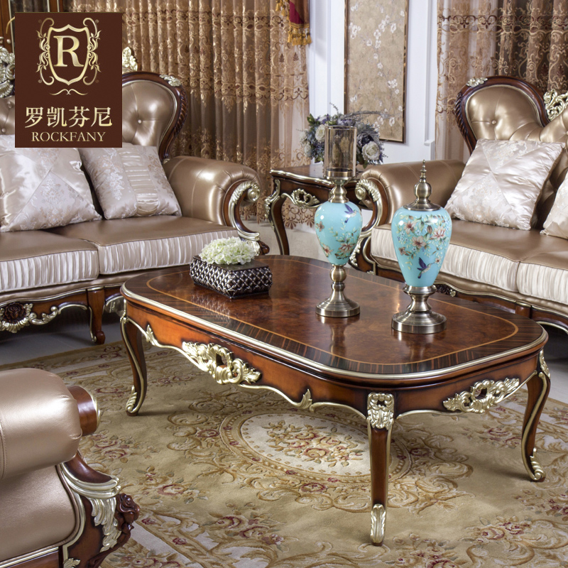 Luokaifenni american furniture american country european solid wood coffee table coffee table coffee table coffee table coffee table neoclassical b
