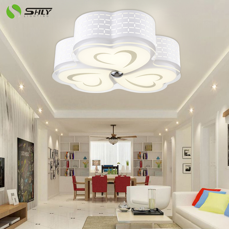 Luyuan (shly) chinese ceiling living room lights led ceiling lights kitchen bedroom lamp wick shaped clover