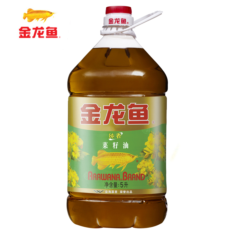 [Lynx supermarket] arowana pure incense rapeseed oil 5l/barrel edible oil drops of oil incense