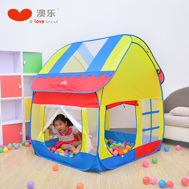 [Lynx supermarket] australia le play house children's princess tent indoor wave ocean ball pool baby toys play house