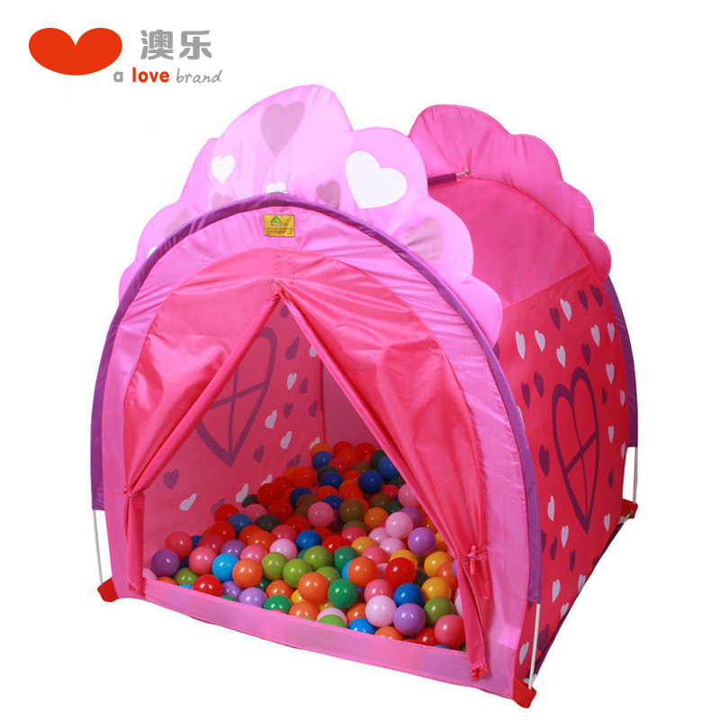 [Lynx supermarket] australia le play house children's tent princess baby house boys and girls play house with send marine ball