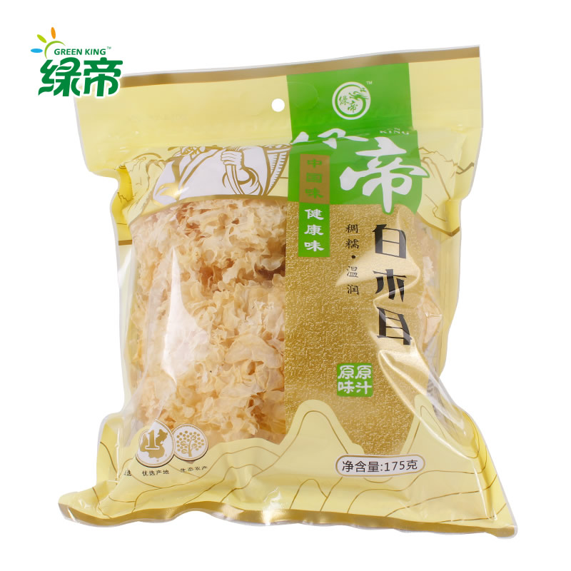 [Lynx supermarket] green emperor white fungus fungus 175g smoked sulfur fungus white fungus furuta specialty dry