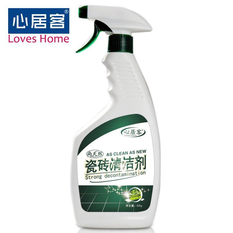 [Lynx supermarket] heart habitat passenger tile floor tiles bathroom tile cleaner 500g strong cleaning agent to Fouling