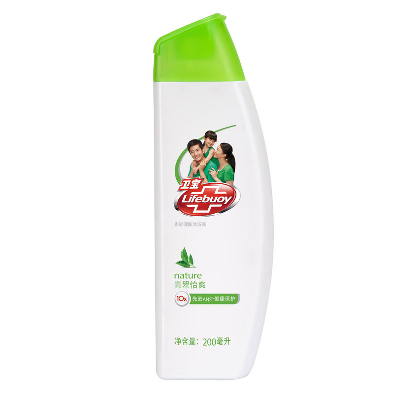 [Lynx supermarket] lifebuoy/wei po healthy skin shower gel shower gel shower gel green yi shuang 200 ml