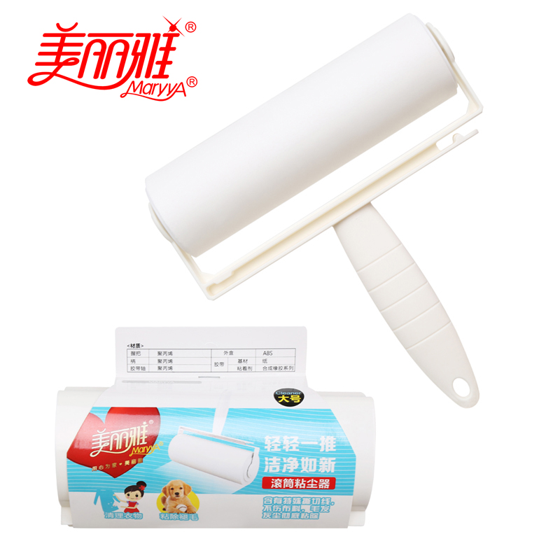 [Lynx supermarket] melia drum precipitator (tuba) pet clothes sticky hair sticky roller Sticky hair device