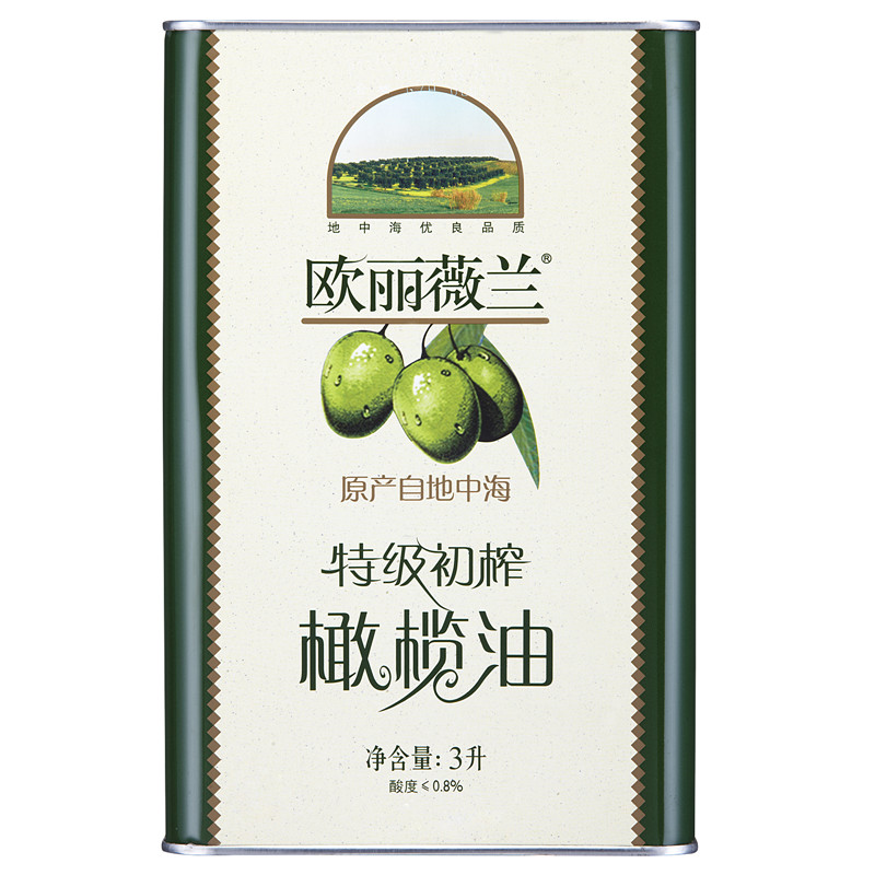 [Lynx supermarket] ouliweilan extra virgin olive oil 3l/barrel healthy cooking oil