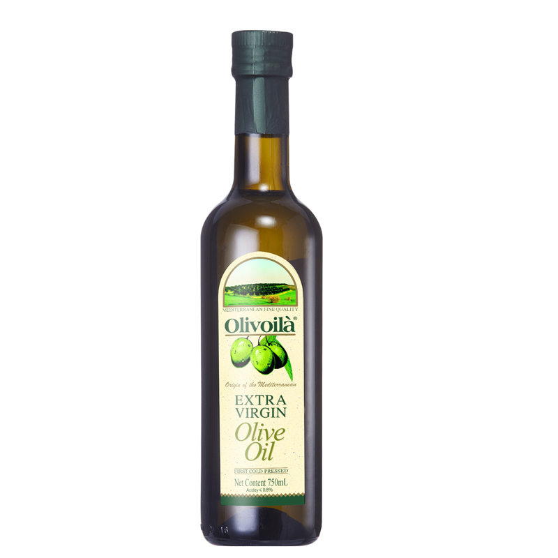 [Lynx supermarket] ouliweilan extra virgin olive oil 750 ml/bottle healthy cooking oil