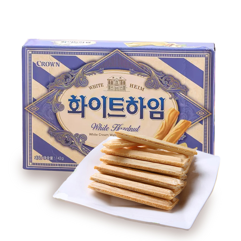 [Lynx supermarket] south korea imported snacks can ryan saltine crackers hazelnut cream dry sweet 142g