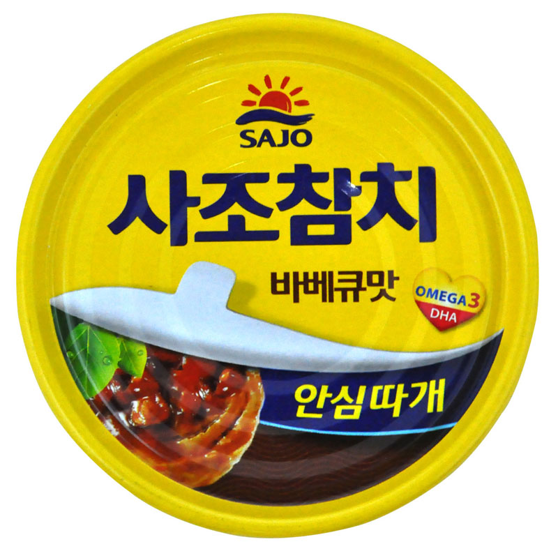 [Lynx supermarket] south korean imports of canned tuna thoughts barbecue flavor 150g canned fish imports