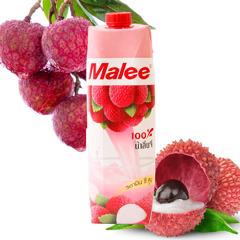 [Lynx supermarket] thailand imported mary/lichees malee juice drinks 1000 ml/bottle