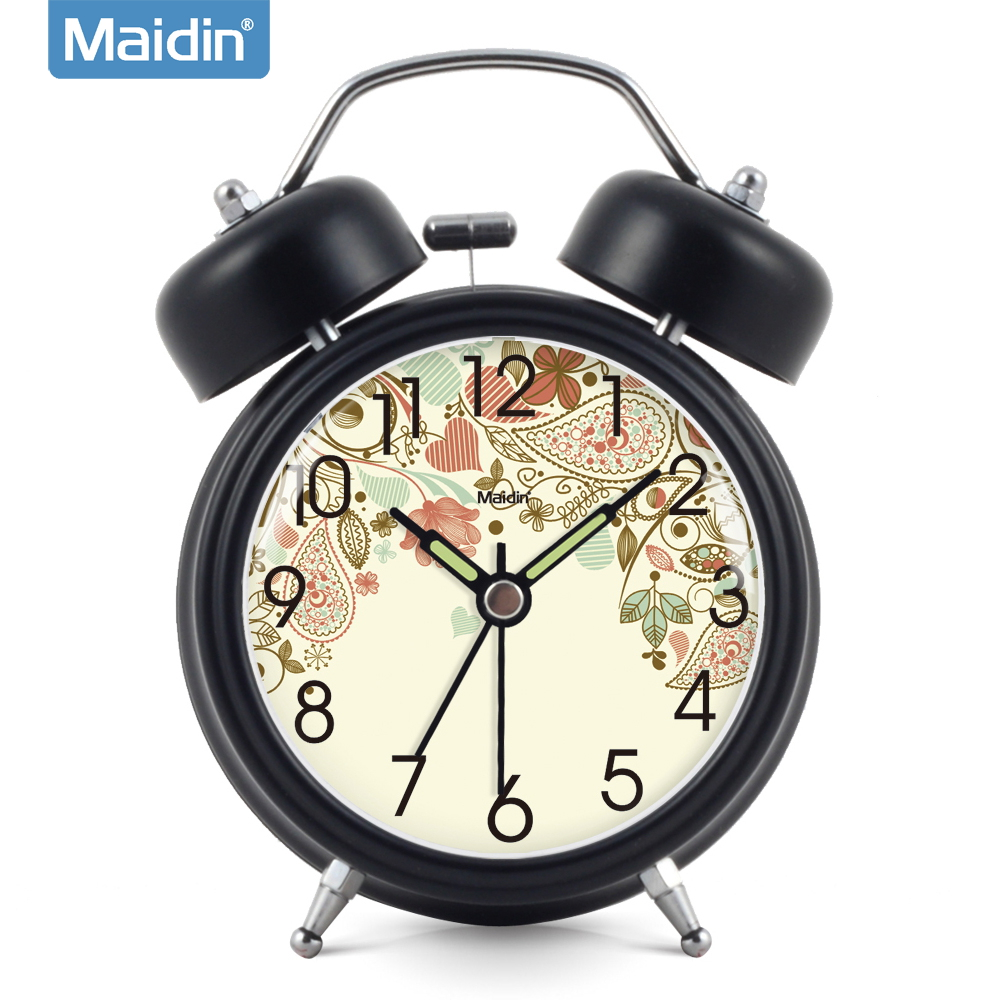 Madine clock wise zhong xuesheng alarm clock creative fashion luminous mute children bedside clock electronic clock 827