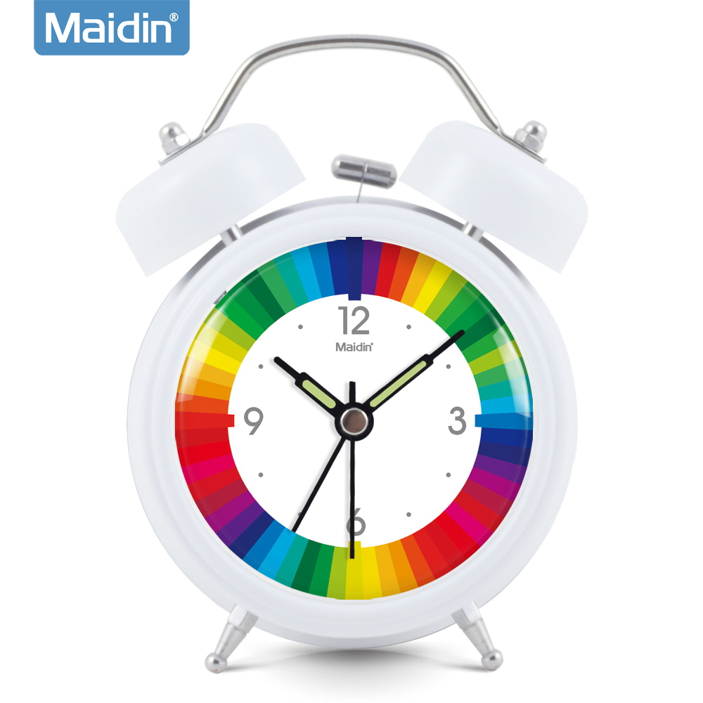 Madine creative mute alarm clock luminous lazy little alarm bell alarm clock bedside alarm clock cartoon children watch 837