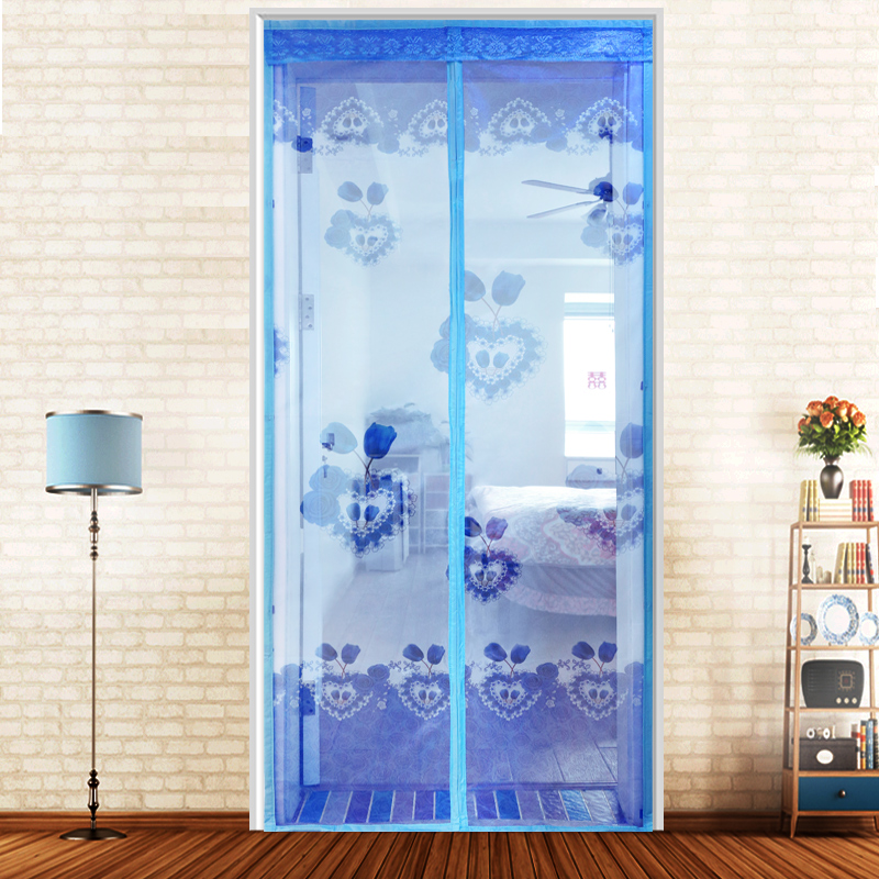 Get Quotations · Magnetic Soft Screen Mosquito Curtain Cloth Partition  Bedroom Screens Screen Door Free To Wear A Magnetic