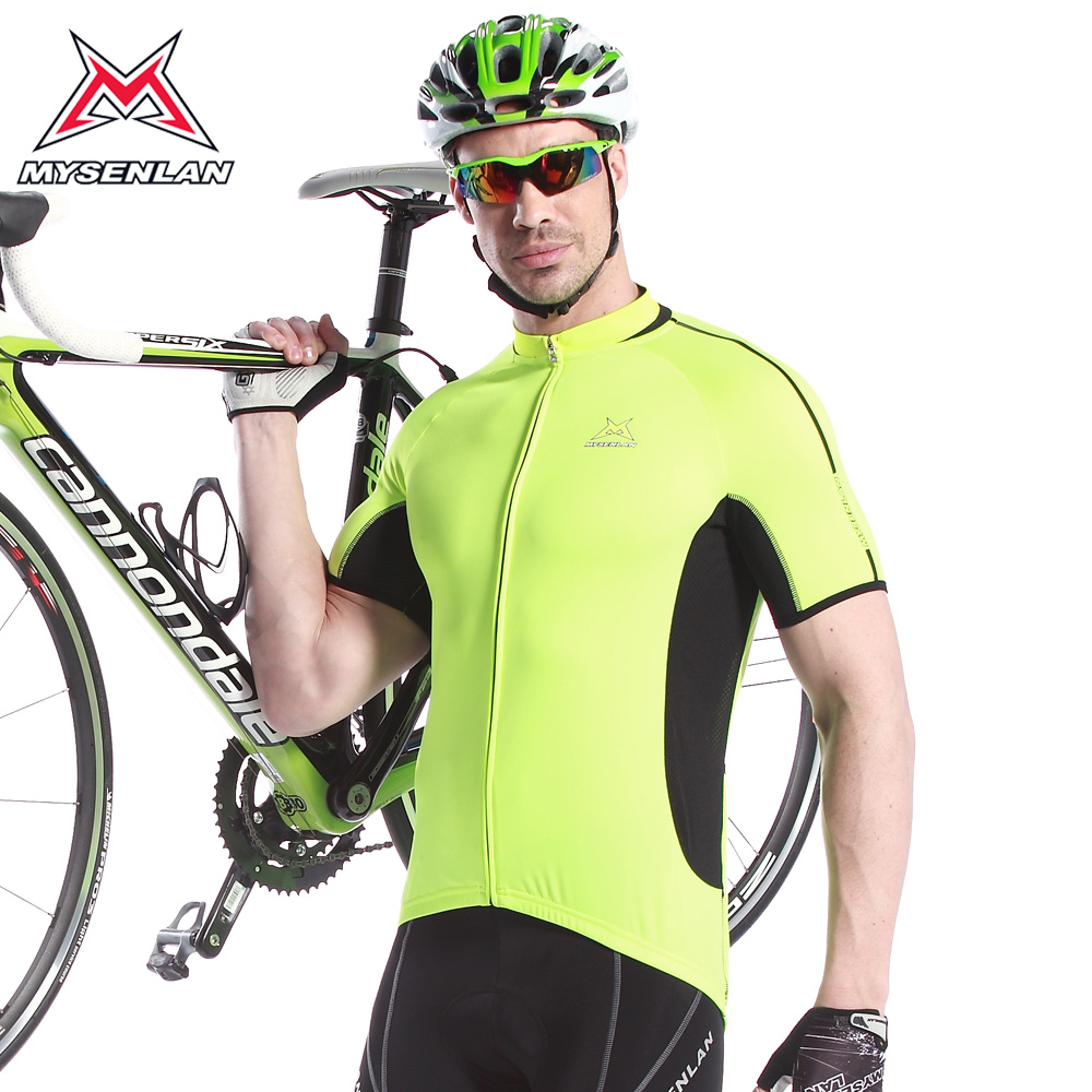 Mai senlan classic moments vertex male bike jersey short sleeve shirt 2014 new spring and summer clothing