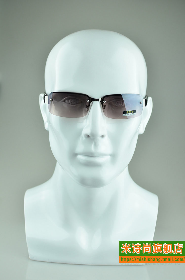 Male mannequin head mold head mold helmet headset display rack display props glasses glasses glasses props model