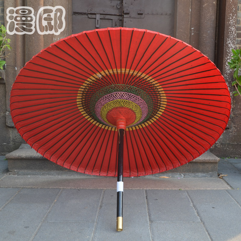 Man di fuzhou features craft umbrella tung oil paper umbrella umbrella classical chinese red wedding etiquette wedding celebration activities props