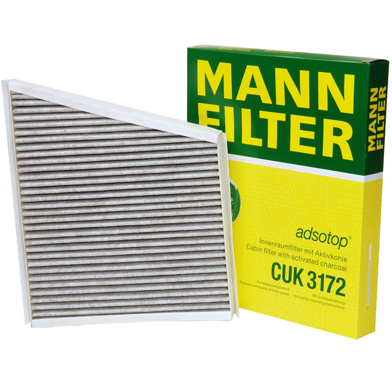 Mann air filter filter grid activated carbon air filter pm2.5 haze CUK3172 benchi level e to level b
